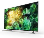 """SONY 55"""" UHD LED Smart TV KD55XH8196 (2020-modell) 4K Ultra HD, HDR, Android-TV,  Sort"""