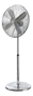 Nordic Home Culture 45 cm metal floor stand fan, chrome