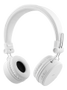STREETZ foldable Bluetooth-headset,  microphone,  Bluetooth 4.1, white