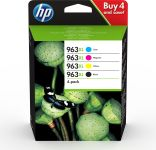HP INK CARTRIDGE 963XL CMYK 4 PACK BLISTER SUPL (3YP35AE#301)
