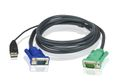 ATEN USB KVM Cable with 3 in 1 SPHD 1.2M