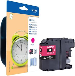 BROTHER Blekk LC125XL-M Magenta (LC125XLM)