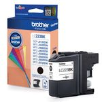 BROTHER Blekk LC223BK Sort (LC223BK)