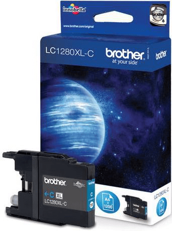 BROTHER Blekk LC1280XL-C Cyan (LC1280XLC)