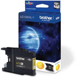 BROTHER Blekk LC1280XL-Y Gul (LC1280XLY)