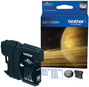 BROTHER Blekk LC1100BK Sort (LC1100BK)