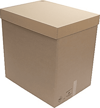 ISAPACK Pallecontainer 1/2 pall 775x578x800mm (40154401)