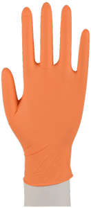 ABENA Nitrilhanske Classic Sensitive Medium Orange (290712#)