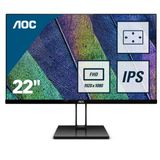 "AOC 54,6cm (21,5"") 22V2Q    16:09 HDMI/DP IPS black 5ms"