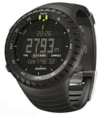 SUUNTO Core - Kello - All Black (SS014279010)