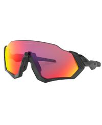 Oakley Flight Jacket Polished Black - Urheilulasit - Prizmn Road