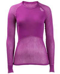 Brynje Lady Wool Thermo Light - Paita - Liila (10140301VI)
