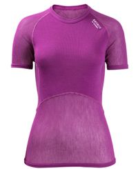 Brynje Lady Wool Thermo Light - T-paita - Liila