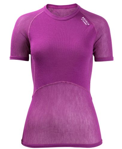 Brynje Lady Wool Thermo Light - T-paita - Liila (10140201VI)