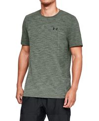 Under Armour Vanish Seamless Fade - T-paita - Vihreä (1325624-492)