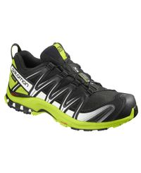 Salomon XA Pro 3D GTX - Kengät - Black/Lime Green/Wht