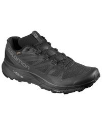 Salomon Sense Ride2 GTX - Kengät - Ebony/ Black/ Quarry (L40707800)