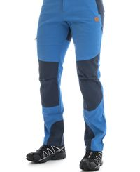 Tufte Wear Mens Pants - Housut - Sininen