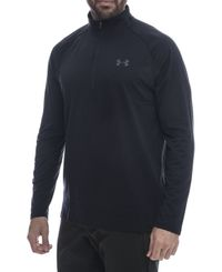 Under Armour Ua Tech 1/2 Zip - Paita - Musta (1328495-001)
