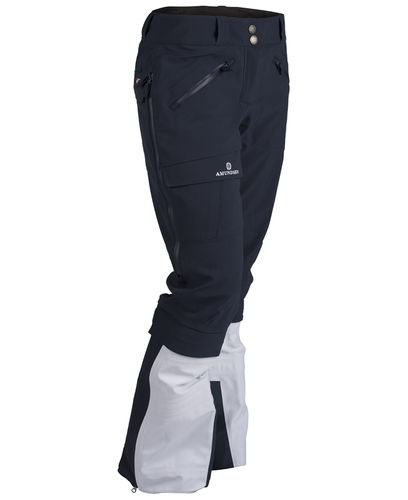 Amundsen Kleiva Split-Pants Ws - Housut - Faded Navy (WPA19.2.590.L)