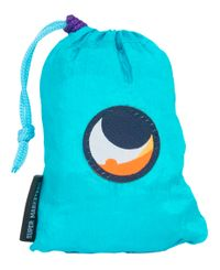 Ticket To The Moon Eco Super Market Bag 40L - Laukku - Turkoosi/ Liila (TMSB1430)