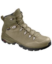 Salomon OUTback 500 GTX - Kengät - Burnt Olive/ Mermaid/ Black (L40692500)