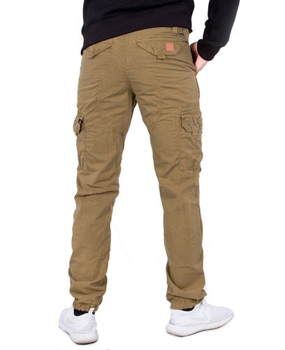 Alpha Industries Riptop Cargo - Housut - Khaki (193178205-13-32)