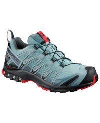 Salomon XA Pro 3D GTX - Kengät - Lead/ Black/ Barbados Cherry (L40789400)