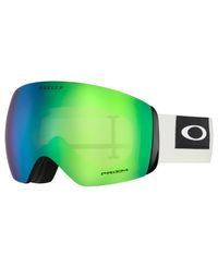 Oakley Flight Deck XL White - Suojalasit - Prizm Snow Jade (OO7050-69)