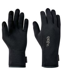 Rab Power Stretch Contact Glove - Käsineet - Musta (QAH-55-BL)