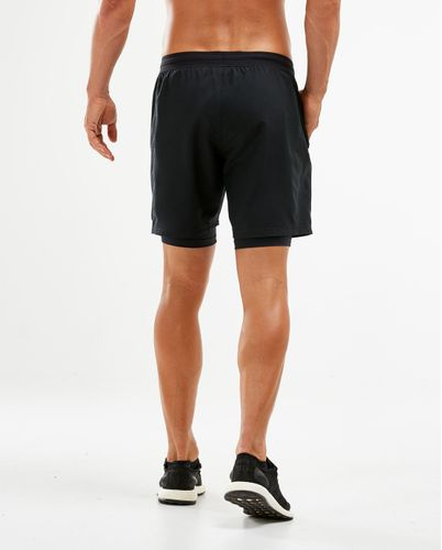 2XU 7 Inch 2 in 1 - Shortsit - Musta (MR5966b-S)