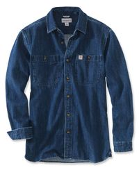 Carhartt Denim - Paita - Tbd Denim (103854I15)
