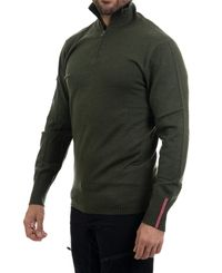 Amundsen Peak Half Zip - Paita - Earth (MSW02.2.410)