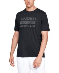 Under Armour Team Issue Wordmark - T-paita - Musta (1329582-001)