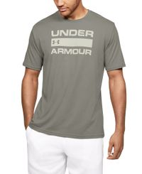 Under Armour Team Issue Wordmark - T-paita - Gravity Green (1329582-388)