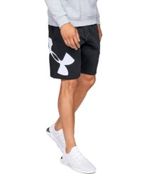 Under Armour Rival Fleece Logo - Shortsit - Musta (1329747-001)