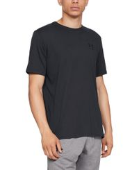 Under Armour Sportstyle Left Chest - T-paita - Musta (1326799-001)