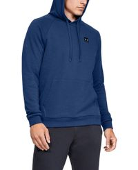 Under Armour Rival Fleece - Huppari - Sininen (1320736-449)