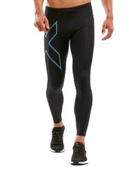 2XU Run Dash Comp - Trikoot - Black/ Denim Reflective (MA6067b)