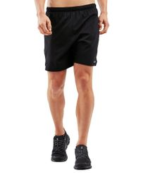 "2XU XVENT 7"" - Shortsit - Black/ Silver Reflective (MR6080b)"