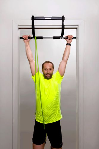 ABILICA DoorGym - Pullup-stang - Musta (AB-728920)