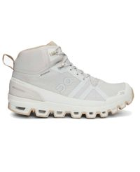 On Cloudrock Waterproof Womens - Kengät - Glacier/ Sand (ONW23-99852)