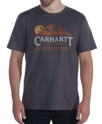 Carhartt Workwear Explorer Graphic - T-paita - Bluestone (104183BLS)
