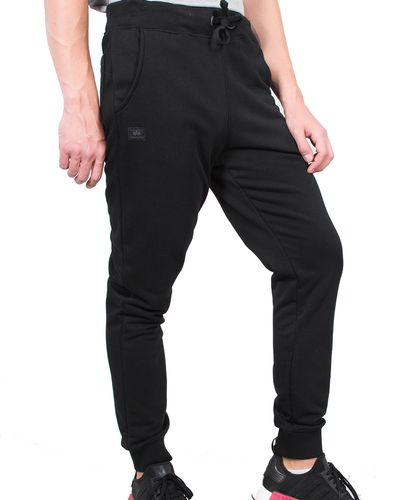 Alpha Industries X-Fit Slim Cargo - Housut - Musta (178333-03)