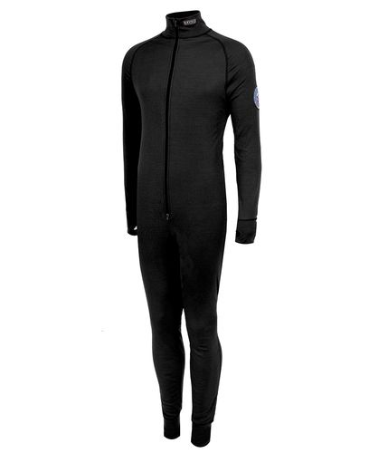 Brynje Arctic XC-Suit w/drop seat - One Piece - Musta (10401130bl)