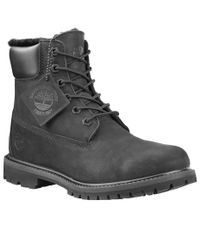 TIMBERLAND 6in Premium Shearling Lined WP Ws - Kengät - Musta (TB0A1U7S-BL)