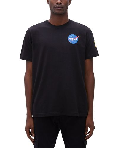 Alpha Industries Space Shuttle - T-paita - Musta (176507-03)