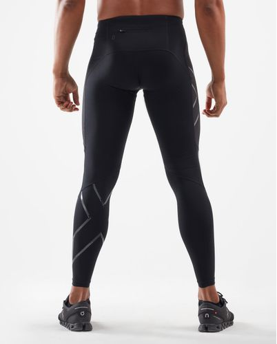 2XU Wind Defence Comp - Trikoot - Black/ Striped Silver Reflective (MA6311b)