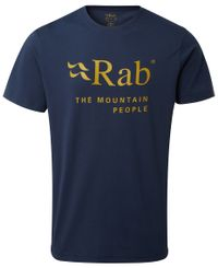 Rab Stance Mountain - T-paita - Deep Ink (QCB-39-DI)