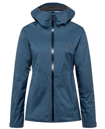 Black Diamond Stormline Stretch Rain Shell Wmns - Takki - Ink Blue (APM697-INK)